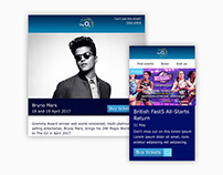 The O2's Interactive Email Refresh
