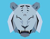 Smiling Tiger GRAPHICALIZED