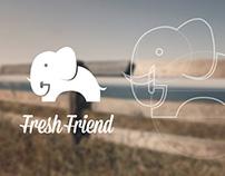Elephant Logo For Fresh Friend