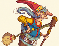 Baba Yaga - Character Design