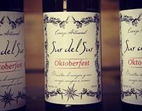 Diseño e ilustración de etiqueta de cerveza