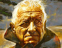 Andrew Wyeth and Jamie Wyeth Portraits