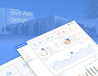 web app design of wisdom park