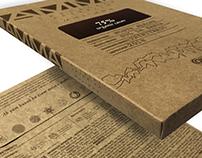 Embalagem AMMA Chocolate - Barra 500g