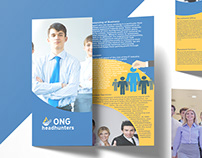 Brochure Design for ONG Headhunters