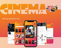 Mobil app- Cinema