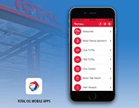 Total Oil Mobile Application