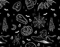 Tile-Friendly Halloween Pattern