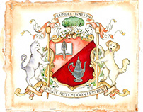 Coat of arms in Coral