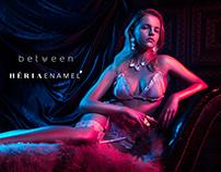 Between X Heria Enamel Ad'campaign