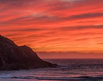 Orange Sunrise at Elizabeth Beach