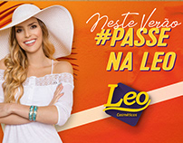 Proposta de campanha de verão 2018/2019 Leo Cosméticos