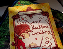 MY BROTHER'S WEDDING - BOOK COVER