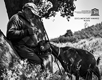 Goatherd Couple (Documentary and humanist photography )