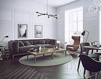 White Brick room