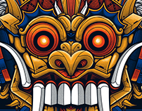 Barong Bali - Illustration Project