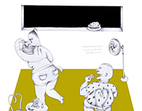 Graze Magazine Illustrations