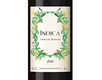 Índica Wine Label
