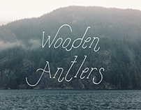 Wooden Antlers Typeface