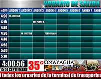 HORARIO DIGITAL INTERACTIVO