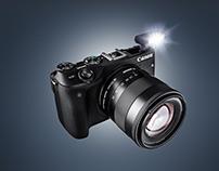Droping the Canon EOS M3 Mirrorless Camera