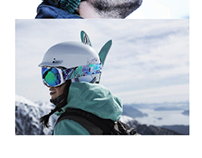 Goggle Band Patterns & Snowboard Deck Layout