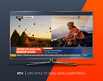 NTV | LIFE STYLE TV SHOW MAIN LOWERTHIRDS