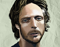 """Portrait"" Alex Mahone ""Prison Break"""