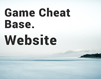 Game Cheat Base. Website