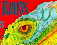 Brant Bjork - concert poster