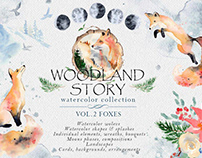 Woodland Story Vol.2 - Foxes