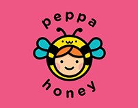 Identidade Visual: Peppa Honey