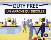 MOTION GRAPHICS / Duty Free : un marché qui décolle