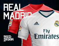 Real Madrid - Jersey Concept