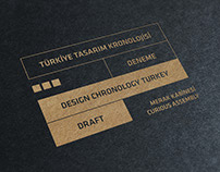 3rd Istanbul Design Biennial, Design Chronology Turkey