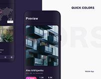 QuickColors App.