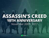 10 Years of Assassin's Creed