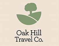 Oak Hill Travel Company Re-Brand