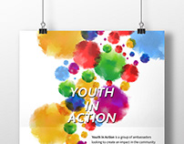CDA Youth in Action poster design