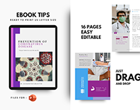 Prevention of covid 19 tips ebook template