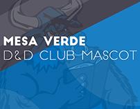 MVHS D&D Club Minotaur Mascot Design