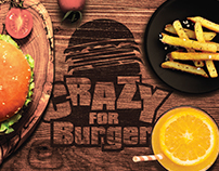 Crazy For Burger - Rebranding