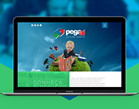 Website Projeto Pegaí - Leitura Grátis