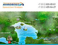 Mobile version for the cruise company Infoflot.