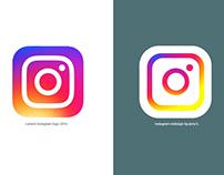 Instagram App Logo redesign