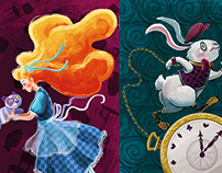 Alice in Wonderland (Illustrations Collection)