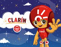 Mascota regional: Clarín