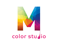 Logo & branding M color studio