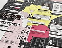 Esquemática + Editorial / EL MAPA DE LA TRATA