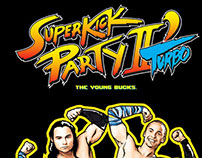 Young Bucks Superkick Party Shirt Designs